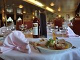 Diner on a Hotelschiff Drupa Düsseldorf