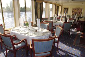 Hotelschiff restaurant Cezanne